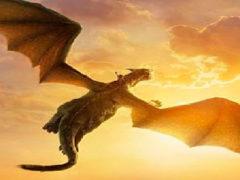 Драконы существуют? Видео летающего дракона.