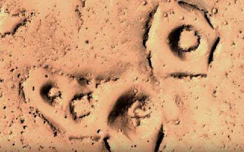 Древний город на Марсе