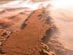 Древнее наводнение на Марсе построило лабиринт Адамса.