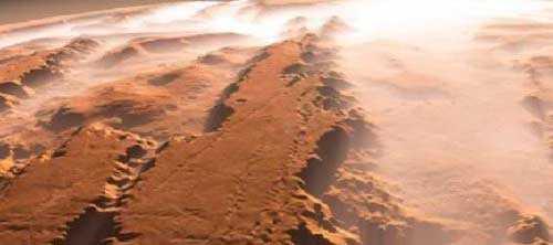 Лабиринт Адамса на Марсе