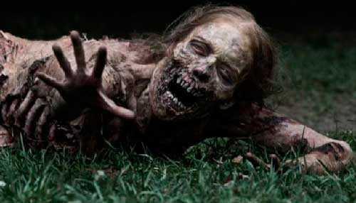 Зомби- живые мертвецы.