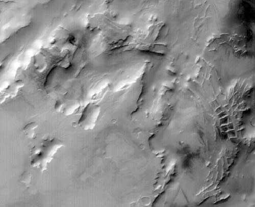 Город Инков на Марсе