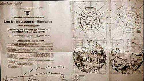 Карта Земли Третьего рейха