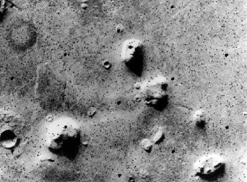 Лицо на Марсе - уникальная иллюзия