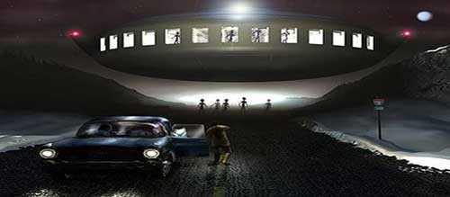 Похищенные инопланетянами Барни и Бетти Хилл