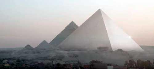 пирамиды плато Гиза