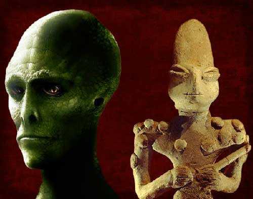 рептилоиды - цивилизации прошлого