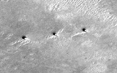 три башни на Марсе