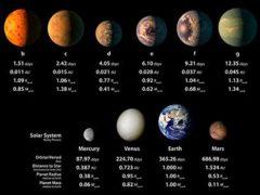 Три зкзопланеты системы TRAPPIST-1 могут содержать жизнь.