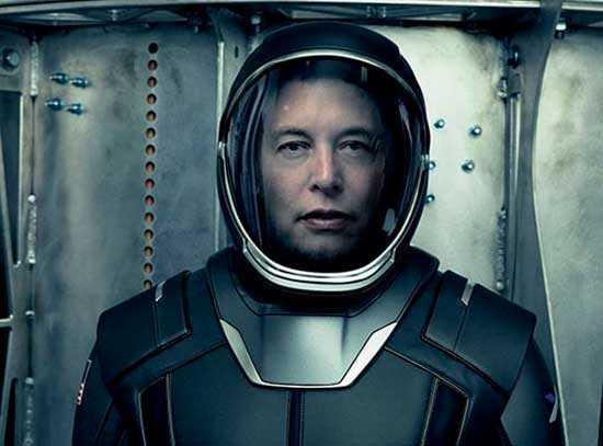 Элон Маск инопланетянин нацеленный на Марс