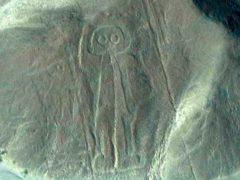 Загадочные рисунки пустыни Наска.