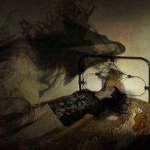 Интересный полтергейст, Чёрный призрак из подмосковья.