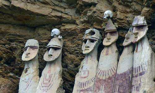 Саркофаги Перу