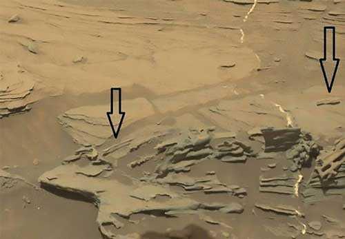 парящие артефакты Марса