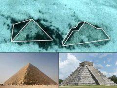 Древние пирамиды обнаружили на дне океана.