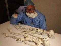 В пустыне Наска обнаружены мумии трехпалых инопланетян.