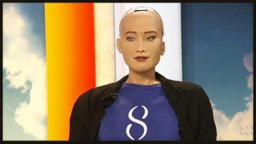 робот София получила гражданство