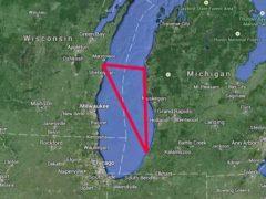 Мичиганский Треугольник, глубокая тайна озера Мичиган.