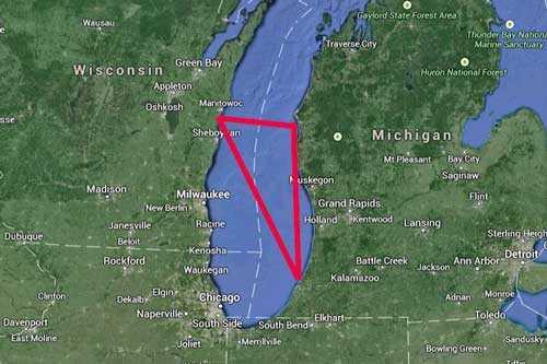 Аномалия Мичиганский треугольник