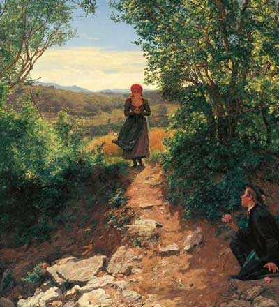 Картина была написана в 1850-1890 годах