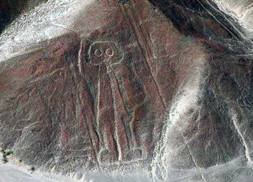 Космонавт пустыни Наска