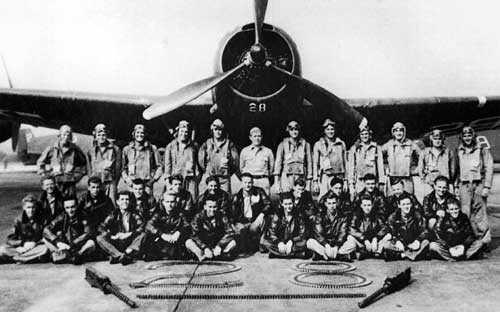 Портрет исчезнувшей в Бермудском треугольнике эскадрильи