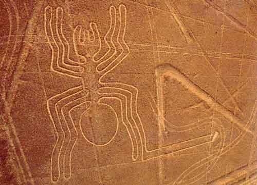Удивительные геоглифы пустыни Наска
