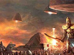 Инопланетяне были на Земле, утверждают наскальные артефакты.
