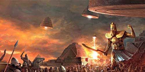 прибытие ануннаков - богов