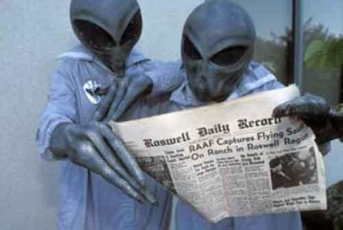 Инопланетяне были на Земле