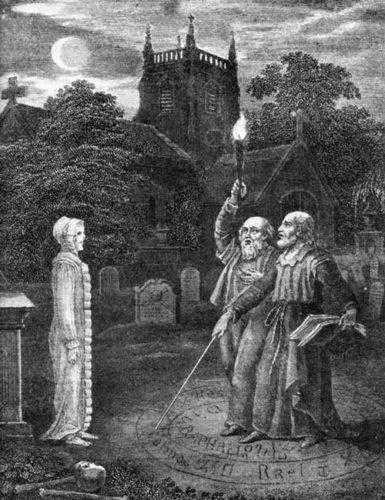Гримуары часто предоставляют методы вызова духа мертвых, а также ангелов или демонов