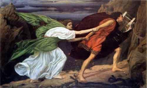 Орфей забирает Эвридику из подземного мира