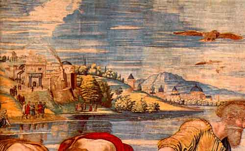 Седая древность, Ватиканский холм, место тайн и хроновизора
