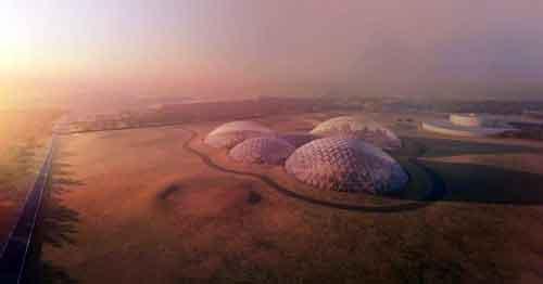 Так будет выглядеть Город Мудрости на Марсе