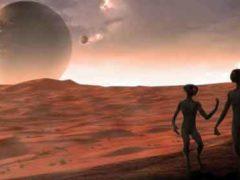 Уничтожение Марса ядерным ударом старшей цивилизации.