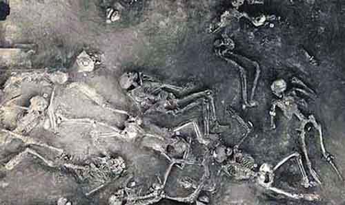 останки людей Мохенджо-Даро