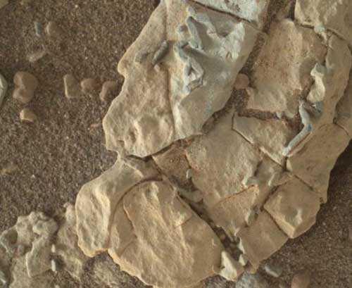 Ровер Кьюриосити обнаружил инопланетную форму жизни на Марсе.
