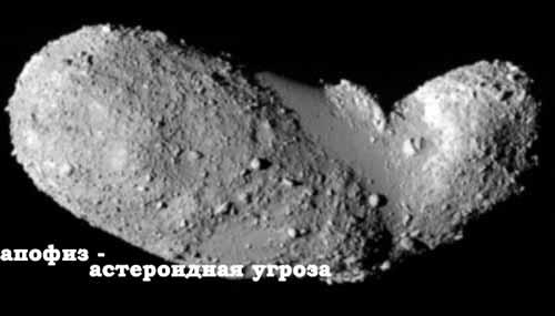 Астероид Апофис – имя разрушителя