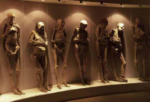 Бальзамирование знали до египтян