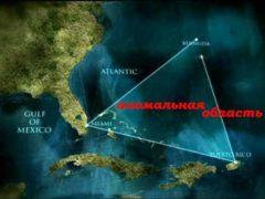 Удивительные загадки, Бермудский треугольник и Озеро Лох-Несс.