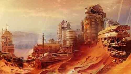 Была разумная жизнь на Марсе
