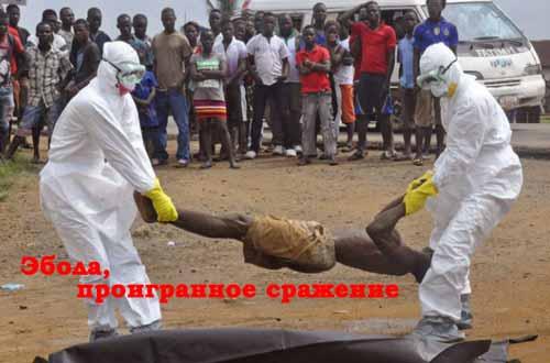 Эбола, проигранное сражение