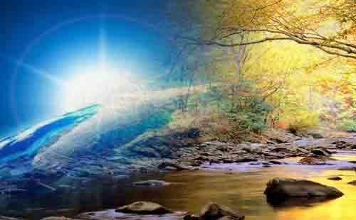 Планета Земля, оазис рая во Вселенной