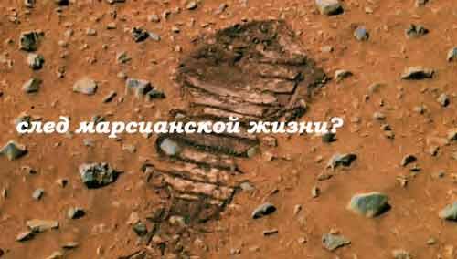Жизнь на Марсе оставила свои неистребимые следы