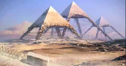 увлекательные тайны пирамид  Египта