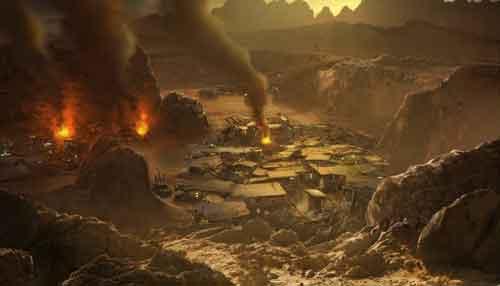 Агрессия и войны погубили марсианскую цивилизацию и собственную планету