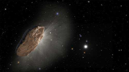 Астероиды очень похожи на космические корабли фантастов