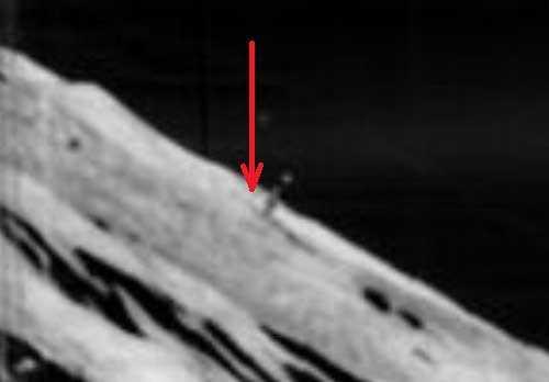 Башня на Луне, пережившая века астероидных ударов
