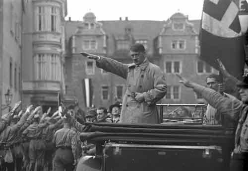 Гитлер умел увлечь идеями
