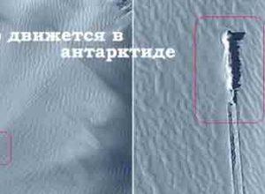 Карты Google фиксируют НЛО в Антарктиде, а метеорит в Хабаровске проскакивает невидимкой.